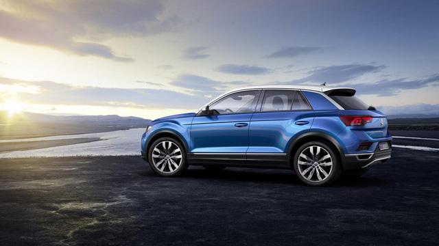 Volkswagen T-Roc - Crossover 5 chỗ hoàn toàn mới, cạnh tranh Honda HR-V và Mazda CX-3 - Ảnh 6.