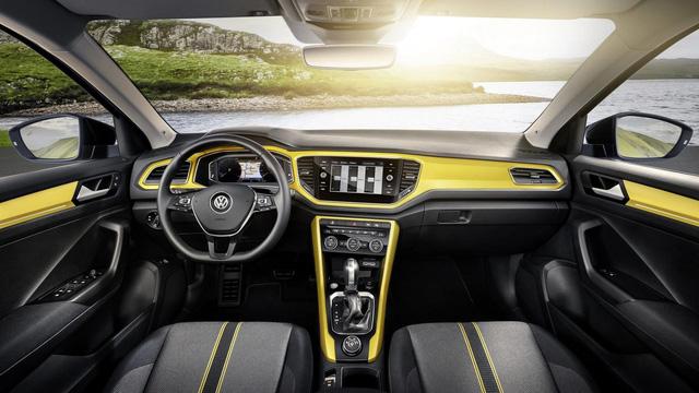 Volkswagen T-Roc - Crossover 5 chỗ hoàn toàn mới, cạnh tranh Honda HR-V và Mazda CX-3 - Ảnh 7.