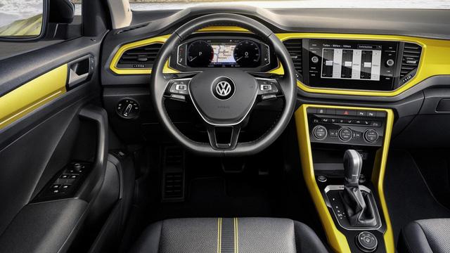Volkswagen T-Roc - Crossover 5 chỗ hoàn toàn mới, cạnh tranh Honda HR-V và Mazda CX-3 - Ảnh 8.
