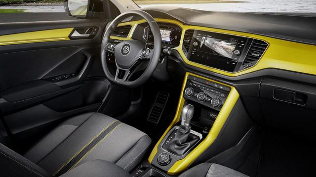Volkswagen T-Roc - Crossover 5 chỗ hoàn toàn mới, cạnh tranh Honda HR-V và Mazda CX-3 - Ảnh 9.
