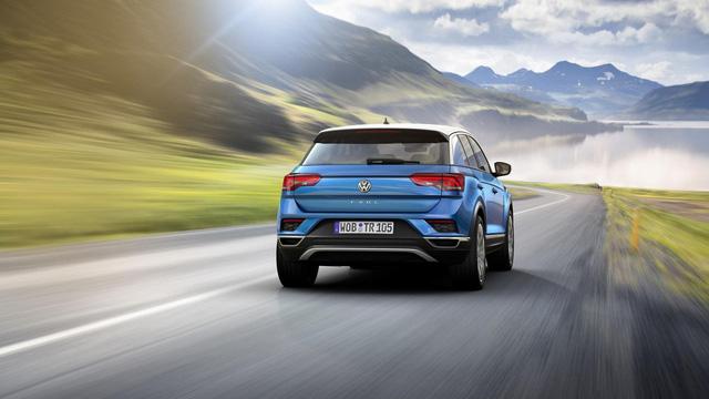 Volkswagen T-Roc - Crossover 5 chỗ hoàn toàn mới, cạnh tranh Honda HR-V và Mazda CX-3 - Ảnh 13.