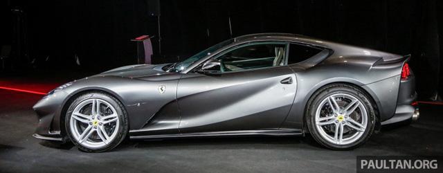 Siêu xe Ferrari 812 Superfast chính thức trình làng tại Đông Nam Á với giá chưa thuế 8,38 tỷ Đồng - 06