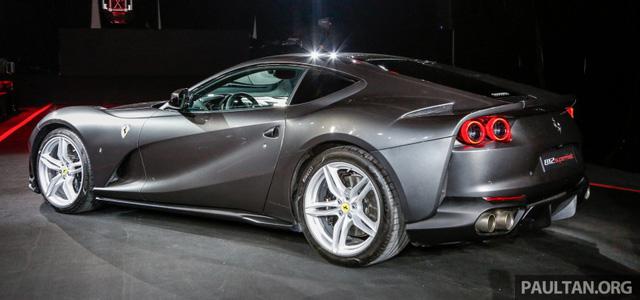 Siêu xe Ferrari 812 Superfast chính thức trình làng tại Đông Nam Á với giá chưa thuế 8,38 tỷ Đồng - 10
