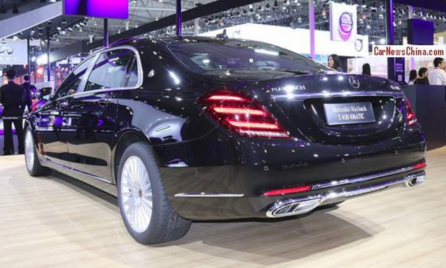 Cận cảnh xe siêu sang Mercedes-Maybach S450 4Matic 2018 ra đời để thay thế S400 4Matic - Ảnh 5.