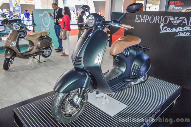 Piaggio ngừng bán xe ga đắt hơn ô tô Vespa 946 Emporio Armani tại Ấn Độ - Ảnh 1.