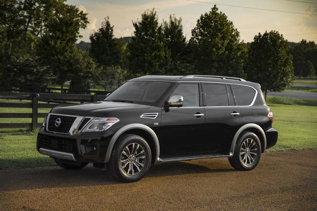 SUV 8 chỗ Nissan Armada 2018 trình làng với công nghệ mới, đối đầu Toyota Sequoia - Ảnh 1.
