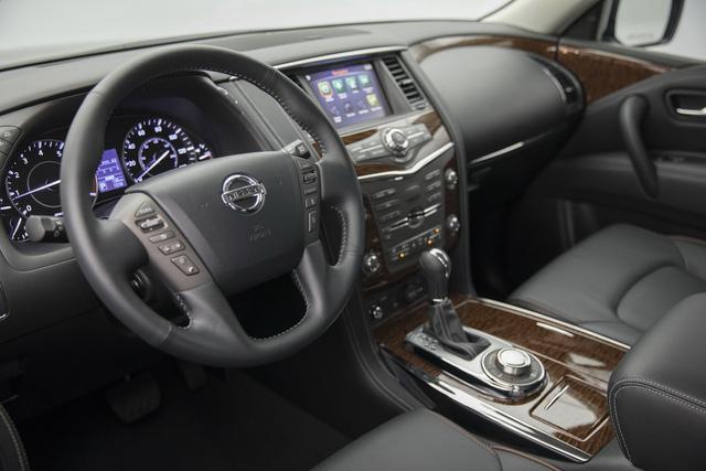 SUV 8 chỗ Nissan Armada 2018 trình làng với công nghệ mới, đối đầu Toyota Sequoia - Ảnh 10.