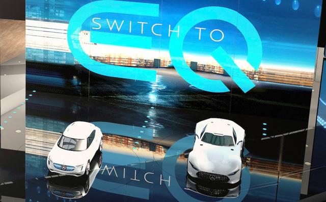 Mercedes-Benz EQ A lộ diện, cạnh tranh với BMW i3 - Ảnh 1.
