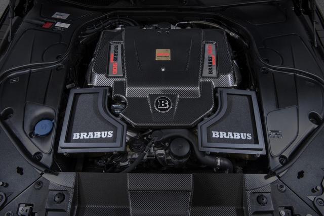 Brabus 900 Rocket Cabrio - Xe mui trần 4 chỗ nhanh nhất thế giới - Ảnh 3.