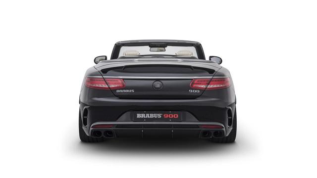 Brabus 900 Rocket Cabrio - Xe mui trần 4 chỗ nhanh nhất thế giới - Ảnh 6.