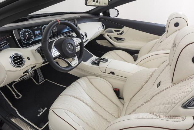 Brabus 900 Rocket Cabrio - Xe mui trần 4 chỗ nhanh nhất thế giới - Ảnh 9.