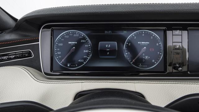 Brabus 900 Rocket Cabrio - Xe mui trần 4 chỗ nhanh nhất thế giới - Ảnh 10.
