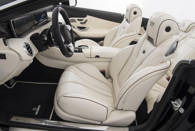 Brabus 900 Rocket Cabrio - Xe mui trần 4 chỗ nhanh nhất thế giới - Ảnh 11.