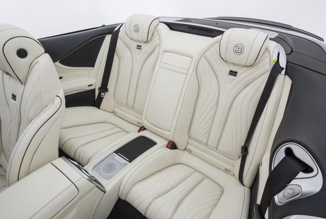 Brabus 900 Rocket Cabrio - Xe mui trần 4 chỗ nhanh nhất thế giới - Ảnh 12.