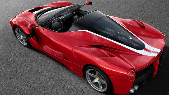 Diện kiến chiếc siêu xe Ferrari LaFerrari Aperta cuối cùng xuất xưởng - Ảnh 1.