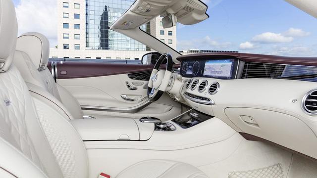 Xe mui trần hạng sang Mercedes-Benz S-Class Cabriolet 2018 được vén màn - Ảnh 5.