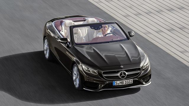 Xe mui trần hạng sang Mercedes-Benz S-Class Cabriolet 2018 được vén màn - Ảnh 6.
