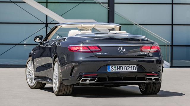 Xe mui trần hạng sang Mercedes-Benz S-Class Cabriolet 2018 được vén màn - Ảnh 10.
