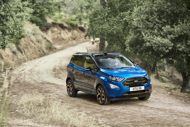 Ford giới thiệu SUV đô thị EcoSport 2018 chỉ tiêu thụ 4,5 lít nhiên liệu cho 100 km - Ảnh 1.