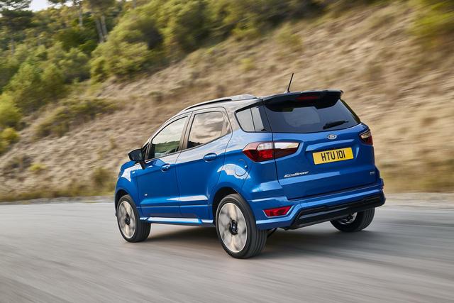Ford giới thiệu SUV đô thị EcoSport 2018 chỉ tiêu thụ 4,5 lít nhiên liệu cho 100 km - Ảnh 2.