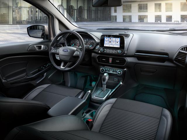 Ford giới thiệu SUV đô thị EcoSport 2018 chỉ tiêu thụ 4,5 lít nhiên liệu cho 100 km - Ảnh 6.