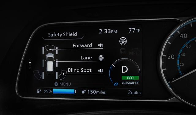 Nissan Leaf 2018 ra mắt với công nghệ nhiều như mây - Ảnh 11.