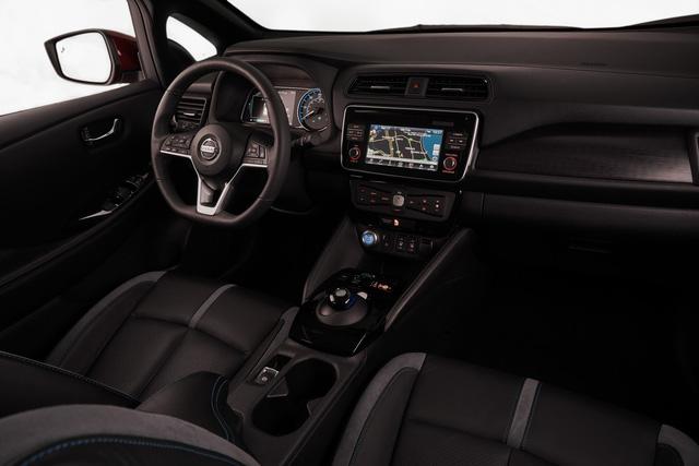 Nissan Leaf 2018 ra mắt với công nghệ nhiều như mây - Ảnh 15.