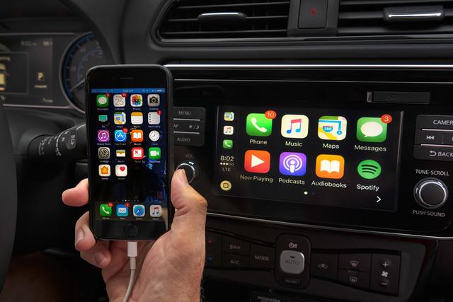 Nissan Leaf 2018 ra mắt với công nghệ nhiều như mây - Ảnh 19.