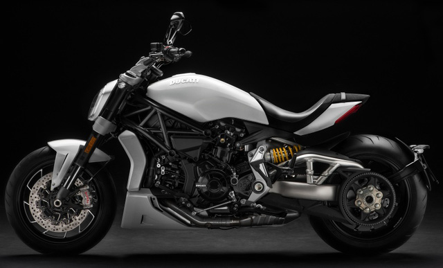 Ducati XDiavel 2018 đẹp mã hơn với màu sơn trắng mới - Ảnh 2.