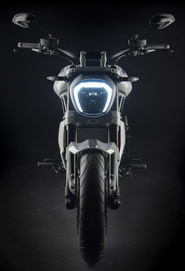 Ducati XDiavel 2018 đẹp mã hơn với màu sơn trắng mới - Ảnh 6.