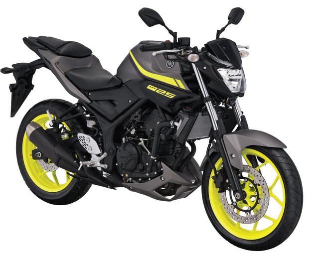 Xe naked bike Yamaha MT-25 2017 trình làng với thiết kế thay đổi nhẹ - Ảnh 1.
