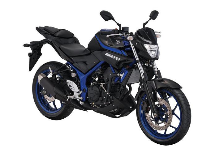 Xe naked bike Yamaha MT-25 2017 trình làng với thiết kế thay đổi nhẹ - Ảnh 2.