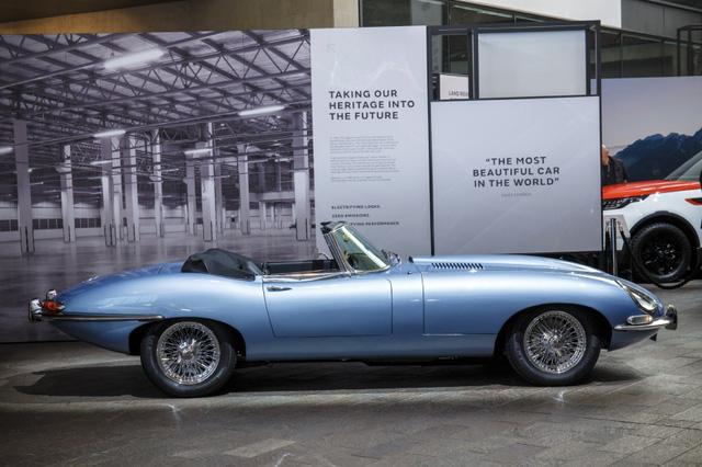 Jaguar E-Type Zero: Khi huyền thoại được hồi sinh với công nghệ của thời đại mới - Ảnh 3.