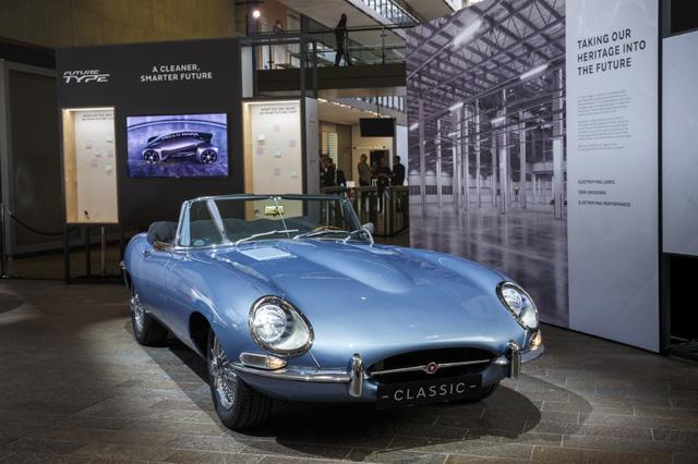 Jaguar E-Type Zero: Khi huyền thoại được hồi sinh với công nghệ của thời đại mới - Ảnh 4.