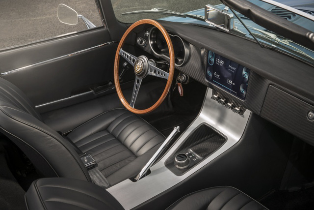 Jaguar E-Type Zero: Khi huyền thoại được hồi sinh với công nghệ của thời đại mới - Ảnh 6.
