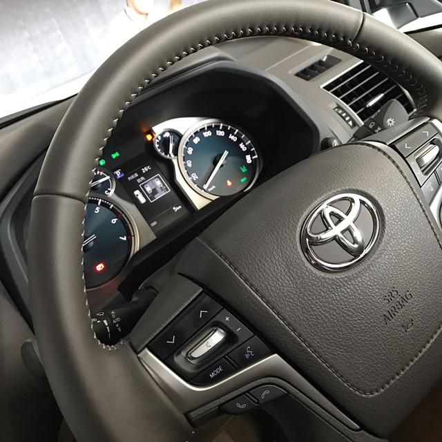 Hình ảnh rõ nét nhất từ trước đến nay của Toyota Land Cruiser Prado 2018 ra mắt vào tuần sau - Ảnh 5.