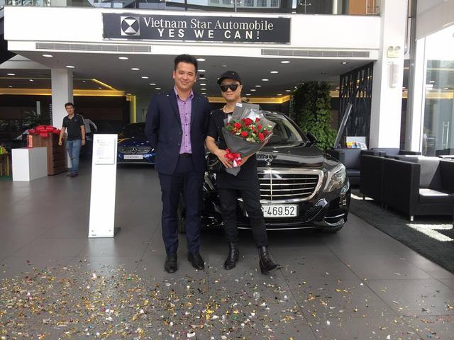 Nhà thiết kế Đỗ Mạnh Cường tậu xe sang Mercedes-Benz S400L tiền tỷ - Ảnh 1.