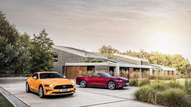 Ngựa hoang Ford Mustang 2018 đặt vó đến lục địa già - Ảnh 6.