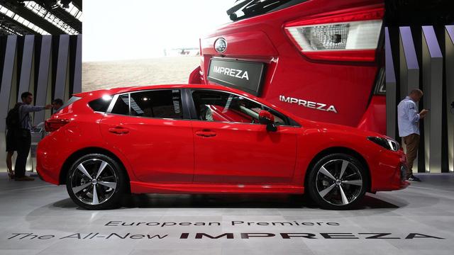 Subaru Impreza 2018: Rộng rãi và an toàn hơn - Ảnh 2.