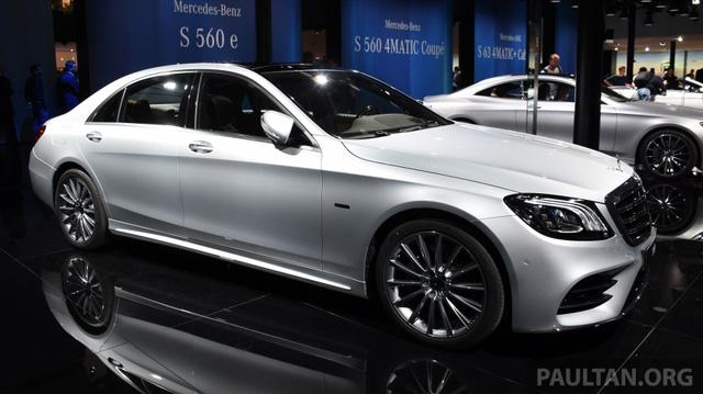 Choáng với phiên bản chỉ tiêu thụ 2,1 lít xăng/100 km của xe cỡ lớn Mercedes-Benz S-Class 2018 - Ảnh 1.