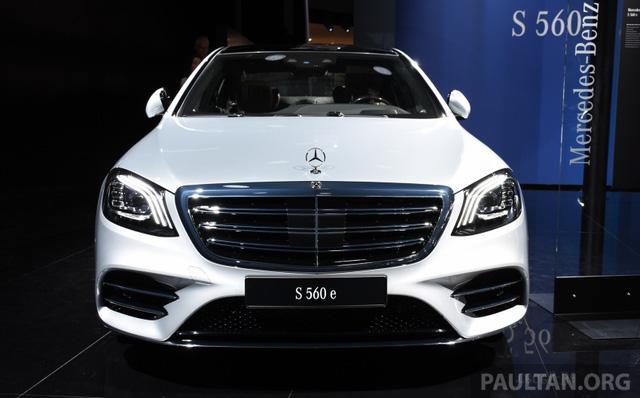 Choáng với phiên bản chỉ tiêu thụ 2,1 lít xăng/100 km của xe cỡ lớn Mercedes-Benz S-Class 2018 - Ảnh 2.