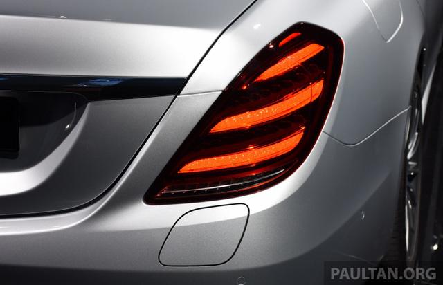 Choáng với phiên bản chỉ tiêu thụ 2,1 lít xăng/100 km của xe cỡ lớn Mercedes-Benz S-Class 2018 - Ảnh 4.