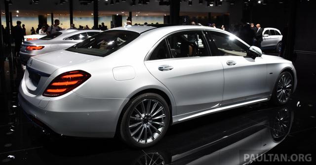Choáng với phiên bản chỉ tiêu thụ 2,1 lít xăng/100 km của xe cỡ lớn Mercedes-Benz S-Class 2018 - Ảnh 5.