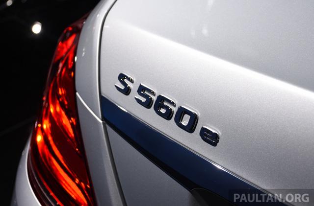 Choáng với phiên bản chỉ tiêu thụ 2,1 lít xăng/100 km của xe cỡ lớn Mercedes-Benz S-Class 2018 - Ảnh 7.
