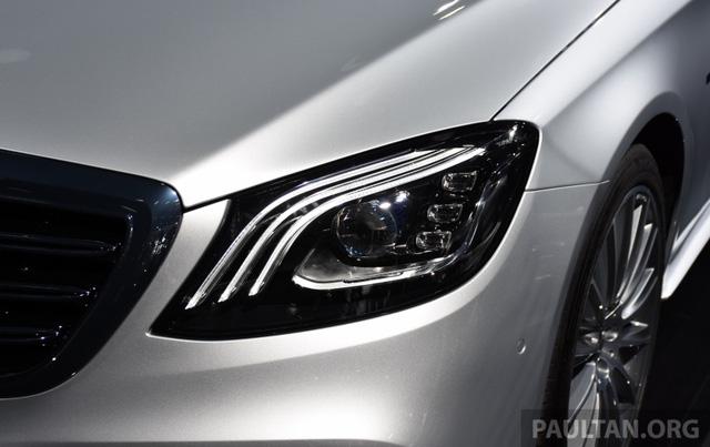 Choáng với phiên bản chỉ tiêu thụ 2,1 lít xăng/100 km của xe cỡ lớn Mercedes-Benz S-Class 2018 - Ảnh 8.