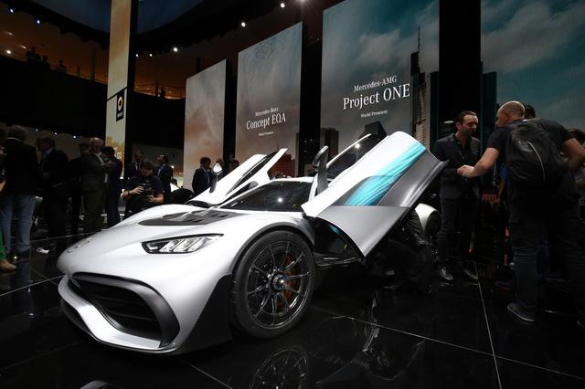Vẻ đẹp xuất sắc của xe đua Công thức 1 đường phố Mercedes-AMG Project One ngoài đời thực - Ảnh 9.