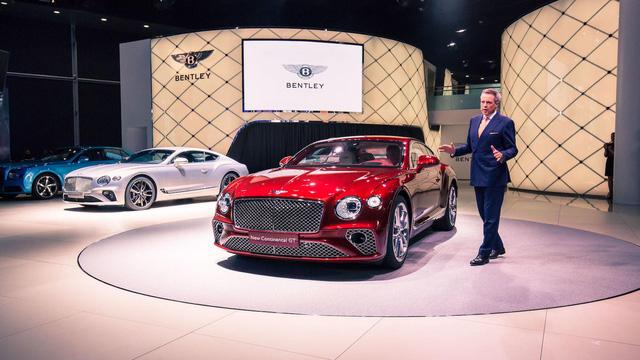 Bentley Continental GT 2018 - Viên ruby của triển lãm Frankfurt 2017 - Ảnh 2.