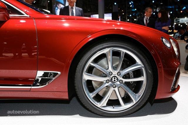 Bentley Continental GT 2018 - Viên ruby của triển lãm Frankfurt 2017 - Ảnh 16.