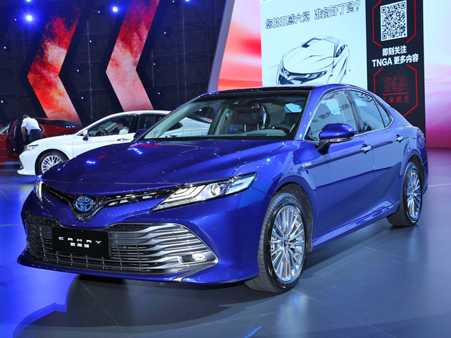 Toyota Camry 2018: Xe hot thị trường Châu Á ảnh 3
