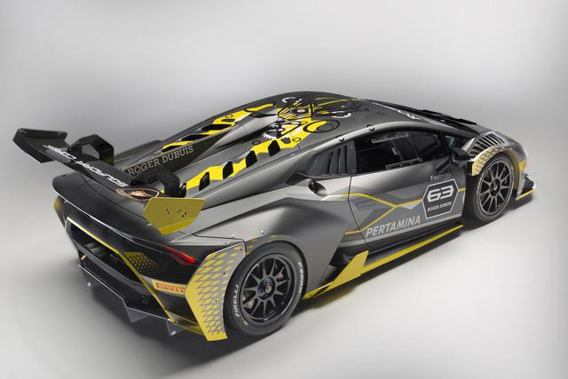 Lamborghini vén màn phiên bản đường đua của siêu xe Huracan - Ảnh 8.